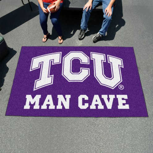 Texas Christian Horned Frogs Man Cave Ulti-Mat Rug