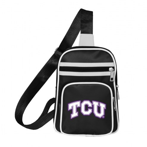 Texas Christian Horned Frogs Mini Cross Sling Bag