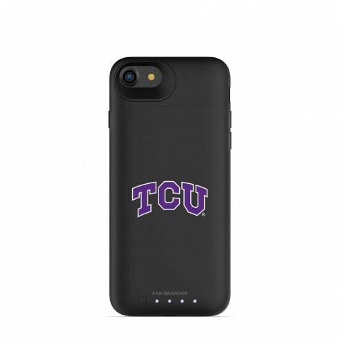 Texas Christian Horned Frogs mophie iPhone 8/7 Juice Pack Air Black Case