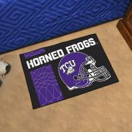 Texas Christian Horned Frogs NCAA Starter Rug