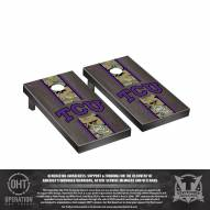 Texas Christian Horned Frogs Operation Hat Trick Stained Cornhole Game Set