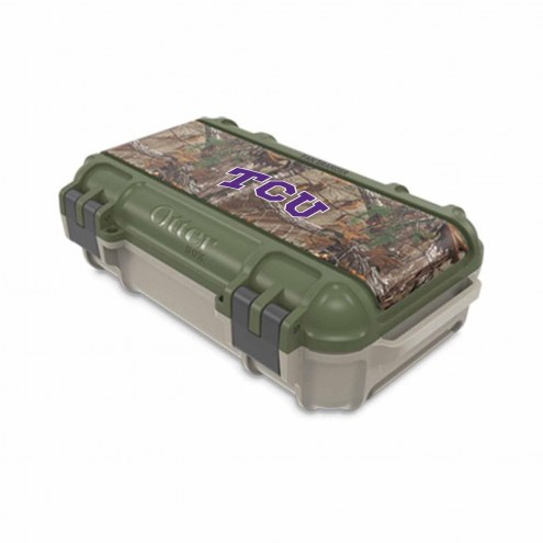 Texas Christian Horned Frogs OtterBox Realtree Camo Drybox Phone Holder