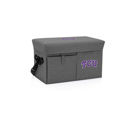 Texas Christian Horned Frogs Ottoman Cooler & Seat