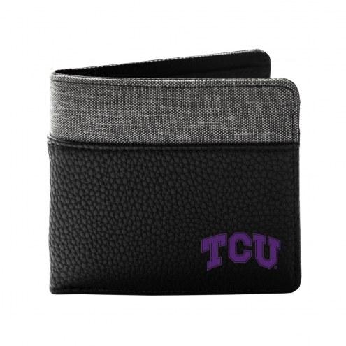 Texas Christian Horned Frogs Pebble Bi-Fold Wallet