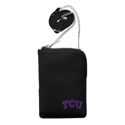 Texas Christian Horned Frogs Pebble Smart Purse