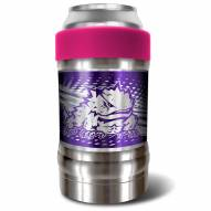Texas Christian Horned Frogs Pink 12 oz. Locker Vacuum Insulated Can Holder