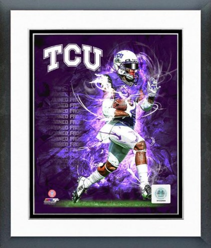 Texas Christian Horned Frogs Player Composite Framed Photo