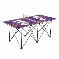 Texas Christian Horned Frogs Pop Up 6' Ping Pong Table