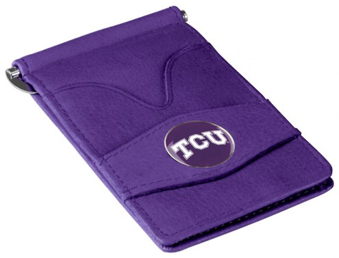 Texas Christian Horned Frogs Purple Player's Wallet