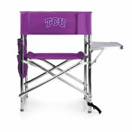 Texas Christian Horned Frogs Purple Sports Folding Chair