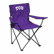 Texas Christian Horned Frogs Quad Folding Chair