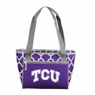 Texas Christian Horned Frogs 16 Can Cooler Tote