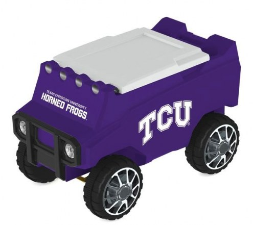 Texas Christian Horned Frogs Remote Control Rover Cooler