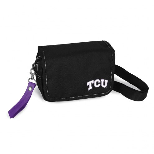 Texas Christian Horned Frogs Ribbon Waist Pack Purse