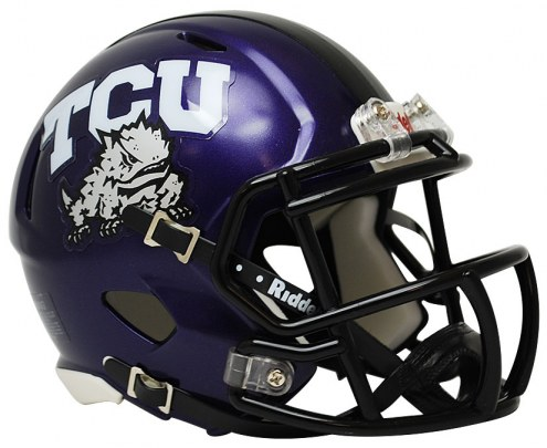 Texas Christian Horned Frogs Riddell Speed Mini Collectible Football Helmet