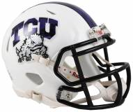 Texas Christian Horned Frogs Riddell Speed Mini Collectible Frog Skin Football Helmet