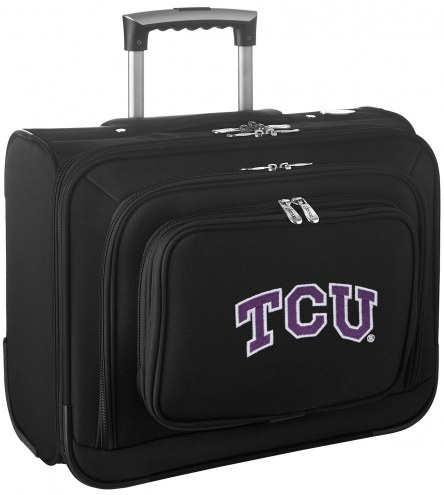 Texas Christian Horned Frogs Rolling Laptop Overnighter Bag