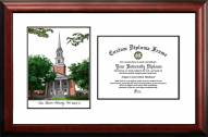 Texas Christian Horned Frogs Scholar Diploma Frame