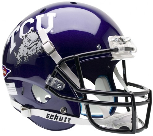Texas Christian Horned Frogs Schutt XP Collectible Full Size Football Helmet