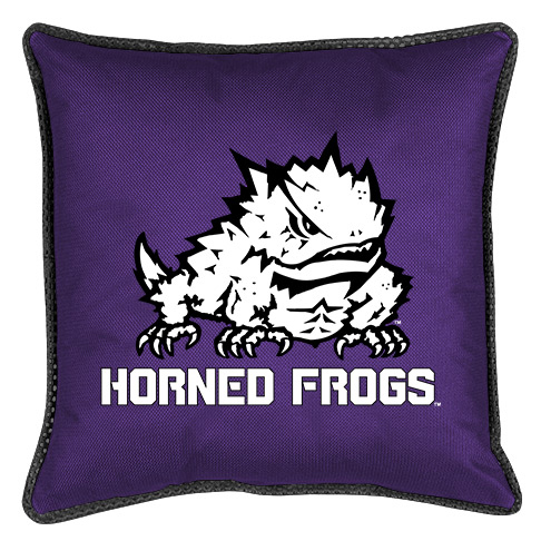Texas Christian Horned Frogs Sidelines Pillow