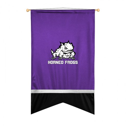Texas Christian Horned Frogs Sidelines Wall Flag