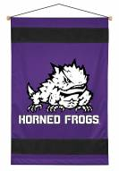 Texas Christian Horned Frogs Sidelines Wall Hanging