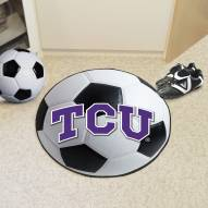 Texas Christian Horned Frogs Soccer Ball Mat