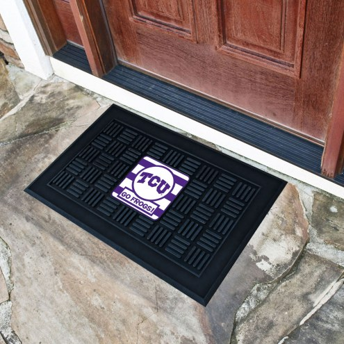 Texas Christian Horned Frogs Southern Style Vinyl Door Mat