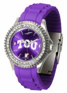 Texas Christian Horned Frogs Sparkle Women's Watch