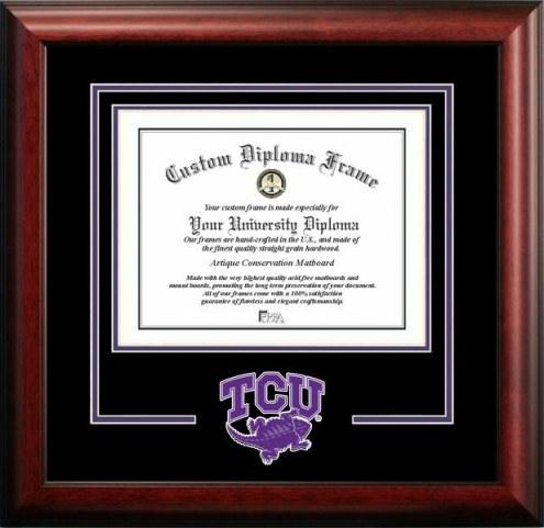 Texas Christian Horned Frogs Spirit Diploma Frame