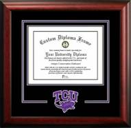 Texas Christian Horned Frogs Spirit Diploma Frame