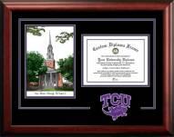 Texas Christian Horned Frogs Spirit Graduate Diploma Frame