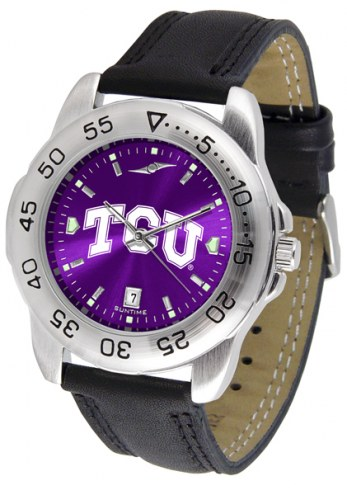 Texas Christian Horned Frogs Sport AnoChrome Men's Watch