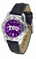Texas Christian Horned Frogs Sport AnoChrome Women's Watch