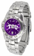 Texas Christian Horned Frogs Sport Steel AnoChrome Women's Watch