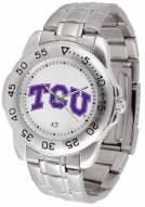 Texas Christian Horned Frogs Sport Steel Men's Watch