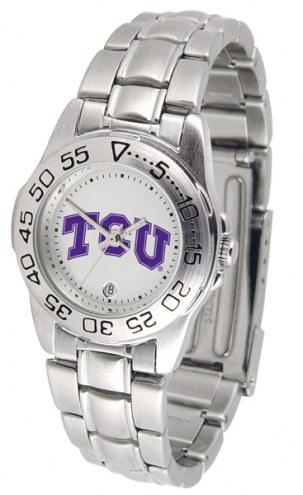Texas Christian Horned Frogs Sport Steel Women's Watch