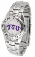 Texas Christian Horned Frogs Sport Steel Women's Watch