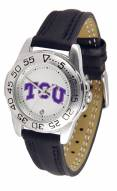 Texas Christian Horned Frogs Sport Women's Watch