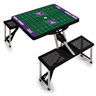 Texas Christian Horned Frogs Sports Folding Picnic Table