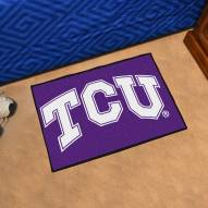 Texas Christian Horned Frogs Starter Rug
