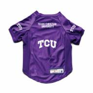 Texas Christian Horned Frogs Stretch Dog Jersey