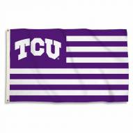Texas Christian Horned Frogs Stripes 3' x 5' Flag