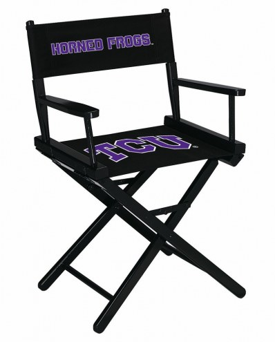 Texas Christian Horned Frogs Table Height Director's Chair