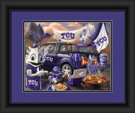 Texas Christian Horned Frogs Tailgate Framed Print