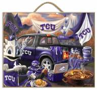 Texas Christian Horned Frogs Tailgate Plaque