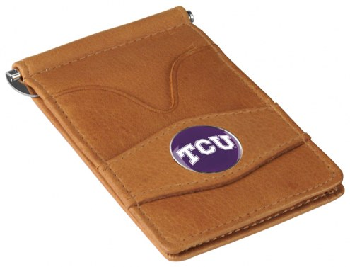 Texas Christian Horned Frogs Tan Player's Wallet