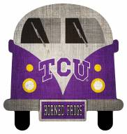 Texas Christian Horned Frogs Team Bus Sign