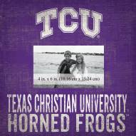 "Texas Christian Horned Frogs Team Name 10"" x 10"" Picture Frame"