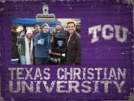 Texas Christian Horned Frogs Team Name Clip Frame